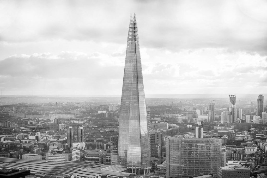 the shard bw About
